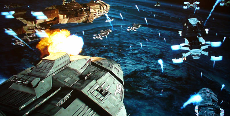 Starship Troopers 2 Bugs. I remember seeing Starship