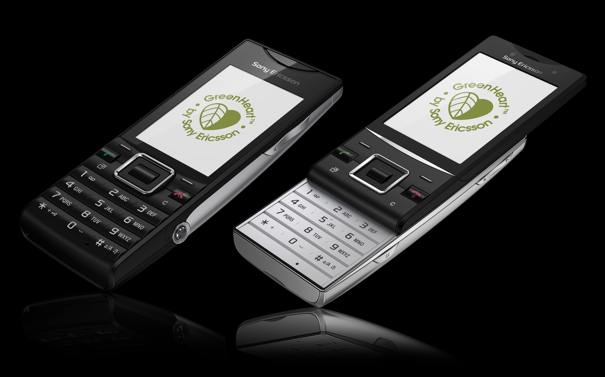 Sony Ericsson Shows Off New Eco-Friendly Elm And Hazel Greenheart Phones