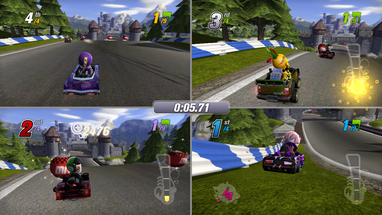 Modnation racers redefines the kart racing genre sony insider related items freerunsca Images