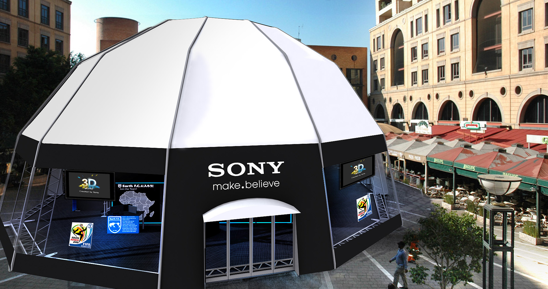 HD_Nelson Mandela Square_Sony 3D World_without statue