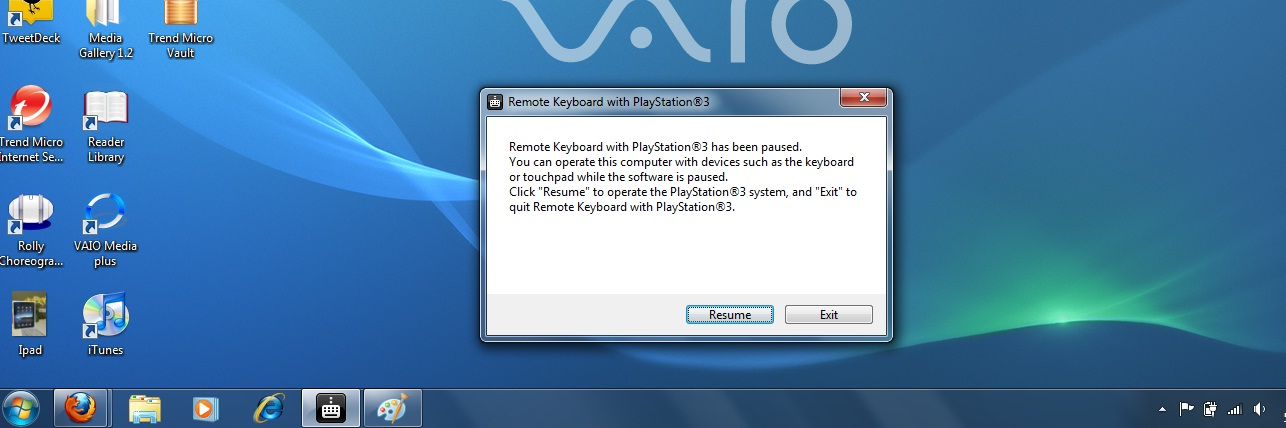 Remote Keyboard with PlayStation 3 Software Available Now!