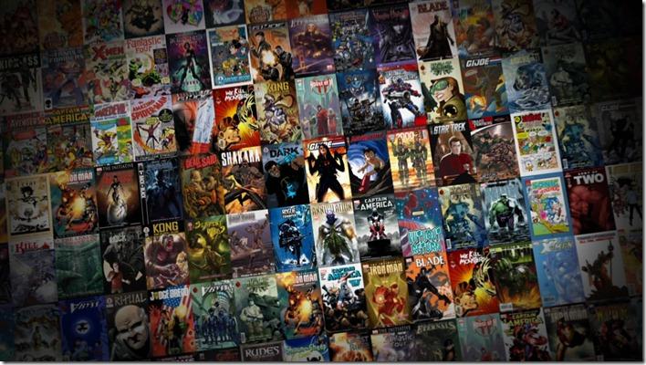 Digital Comics Montage