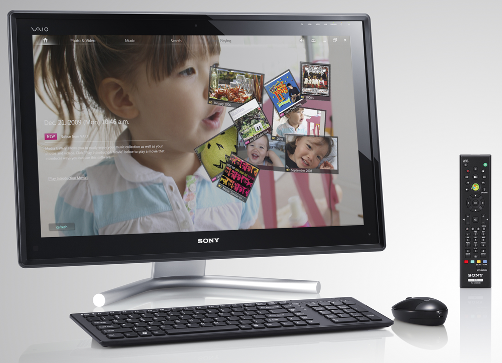 The New All in One VAIO L Touch HD PC/TV