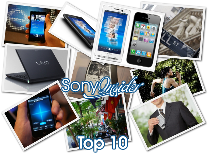 Top Ten Sony Insider Stories Of 2010